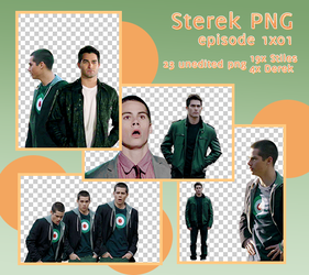 Sterek PNG Pack 1x01 by midnightgirl