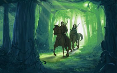 Through the Forest by brokeman29
