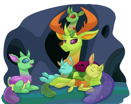 Royal Nap Time by ItsTaylor-Made