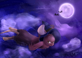 Halloween Is Magic by conwolf