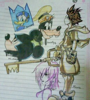 Kingdom Of Hearts by MargieAnn