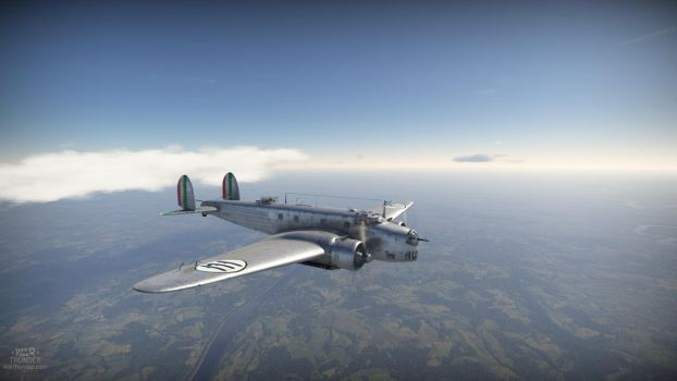 The Silver Italian - The BR.20 DR by bismark236