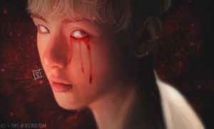 161012 Taehyung Blood Sweat Tears by Jungkuk