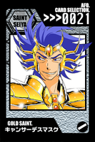 SS Cards - Cancer DeathMask by afo2006
