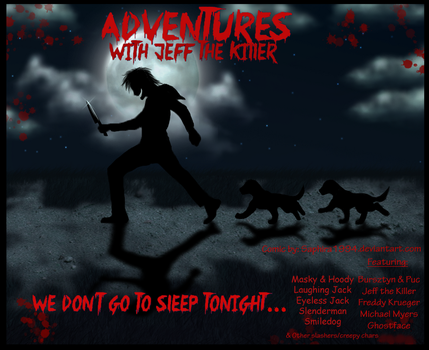 Adventures With Jeff The Killer - COVER by Sapphiresenthiss