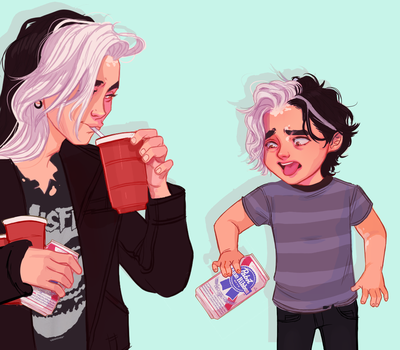 Drinkin problem by UrsulaDecay