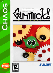 Mr. Gimmick! for Chaos Box Art by MamonStar761