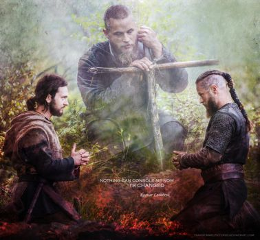 Ragnar and Athelstan by TravisFimmelPictures