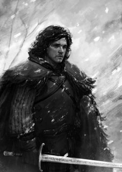 Jon Snow by AndreaMeloni