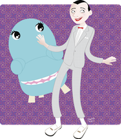 Pee-wee and Chairry by Konstance