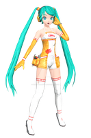 [Dreamy Theater Extend] Miku Racing 2010 by PiettraMarinetta