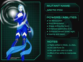 Arctic Fox by Silver-Tiamat