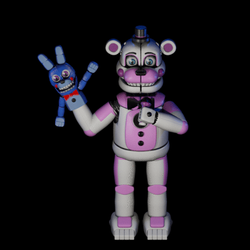 (FNAF SL) Funtime Freddy Stage Animation by HalloweenSteinger