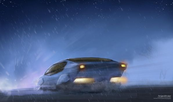 Hover Car by forgedOrder