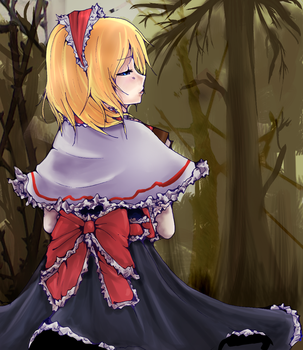 -Touhou- Alice in the woods by arence