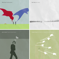 Simplified Album Covers by DrPockets