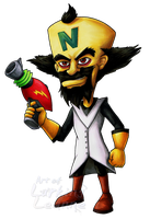 Dr Neo Cortex by Lurking-Leanne