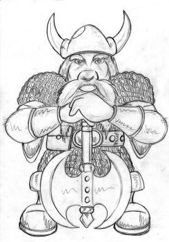 Draw it again - Dungeon keeper 1 dwarf by archelaian