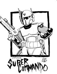 Imperial Super Commando by MichaelLinkJr