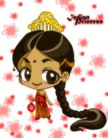 Indian Princess by m3ru