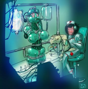 Hospital Horrors: Experiment by engineskye