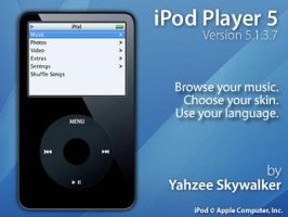 iPod Player 5 by YahzeeSkywalker