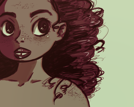 Curly by Espeonizzle