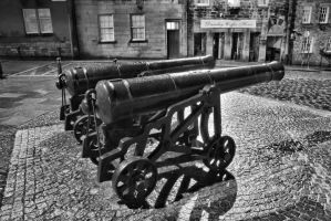 Shooting Cannons with a Canon by BusterBrownBB