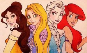 Disney Princesses by caligrl7072