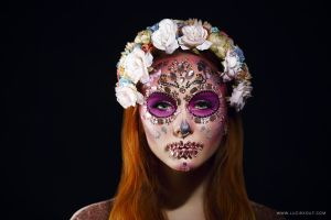 Sugarskull by luciekout