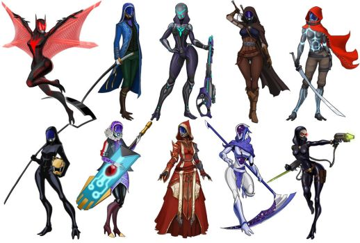 Imagery of Tali (x10) part8 by spaceMAXmarine