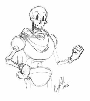 Papyrus Sketch by WhisperSeas