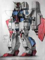 MSZ-010RE Gundam Double Zeta II by JAM4077