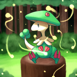 Breloom: The Spirit of the Forest by Megamario5599