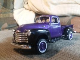 one Purple-isious work truck by JSMRACECAR03