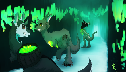 .:: Lime Excavation ::. by OpalesquePrincess
