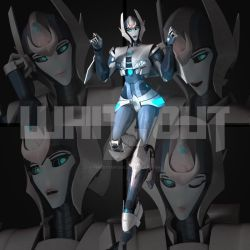 Whiteout Transformers Prime by VendettArtsOC