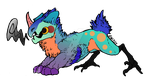 Smoothie the JolleRaptor [MYO Contest Entry] by GameDweeber