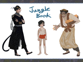 Jungle Book Musical Version(Humans) by Ohhohoh