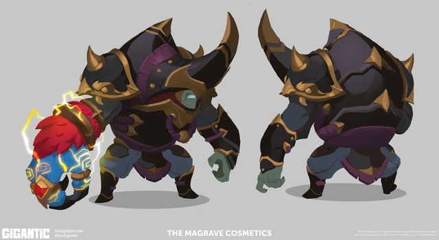 GIGANTIC - Demonhunter Margrave by Gorrem
