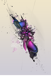 First Abstract Artwork by Renjir0
