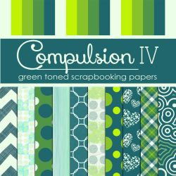 Compulsion IV: Green Toned Papers (Free) by TeacherYanie
