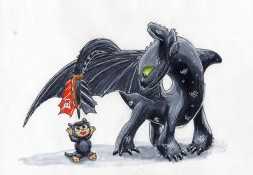 Toothless  by BBQNinja501st