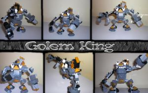 Mixel Max Mixes:Golem King by Trimondius01