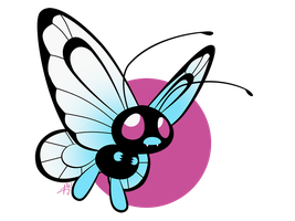 012 - Butterfree by the-Mad-Hatress