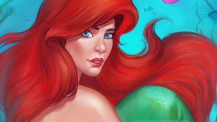 The little mermaid wallpaper by TanyaGreece