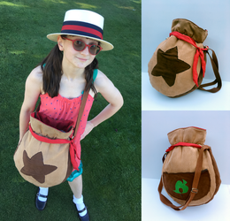 Animal Crossing Bell Bag by k-times-two