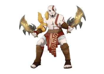 Kratos - The End of All Things: God of War III by Debochira