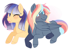 {COMM}  + SleppchocolateMLP + by TheFlowersDreams