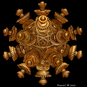 Golden Icosahedron by fraxialmadness3